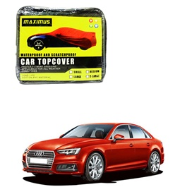 Audi A4 Maximus Non Woven Scratchproof Waterproof Car Top Cover - Model  2016-2019-SehgalMotors.Pk