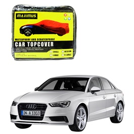 Audi A3 Maximus Non Woven Scratchproof Waterproof Car Top Cover - Model 2012-2017-SehgalMotors.Pk