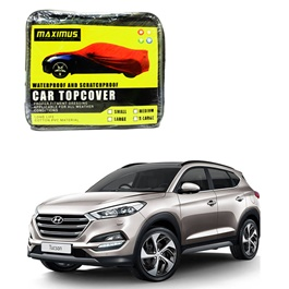 Hyundai Tucson Maximus Non Woven Scratchproof Waterproof Car Top Cover - Model 2020 - 2021-SehgalMotors.Pk