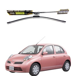 Nissan March Maximus Premium Silicone Wiper Blades – Model 2002 - 2010-SehgalMotors.Pk