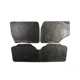 Honda City Custom Floor Mat Black - Model 2008-2017-SehgalMotors.Pk