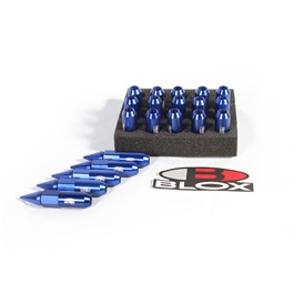 BLOX Spikes Lug nuts Blue 1.5mm-SehgalMotors.Pk