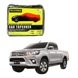 Toyota Hilux Revo Maximus Non Woven Scratchproof Waterproof Parachute Car Top Cover – Japanese Model 2015-2016-SehgalMotors.Pk