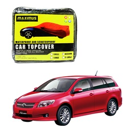 Toyota Corolla Fielder Maximus Non Woven Scratchproof Waterproof Car Top Cover – Model 2006-2012-SehgalMotors.Pk