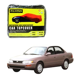 Toyota Corolla Maximus Non Woven Scratchproof Waterproof Car Top Cover – Model 1994-2002-SehgalMotors.Pk