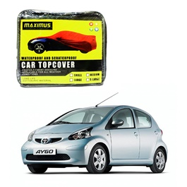 Toyota Aygo Maximus Non Woven Scratchproof Waterproof Car Top Cover - Model 2005-2014-SehgalMotors.Pk