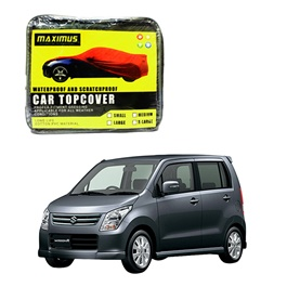 Suzuki Wagon R Maximus Non Woven Scratchproof Waterproof Car Top Cover – Model 2008-2012-SehgalMotors.Pk