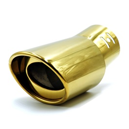 Gold Plated Steel Muffler Burn Tip 4S - G14-SehgalMotors.Pk