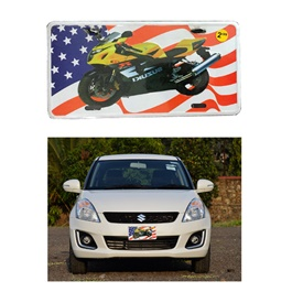 Suzuki USA Number Plate - Each-SehgalMotors.Pk