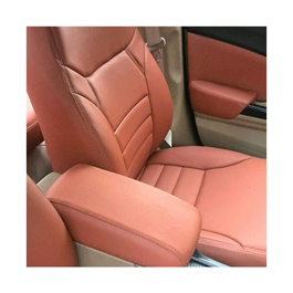 Honda Civic Seat Covers Brown with Straight Lines - Model 2014-2015-SehgalMotors.Pk
