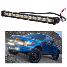 Front 12 LED Bar Light - 1 Ft-SehgalMotors.Pk