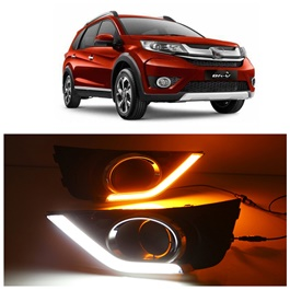 Honda BRV Fog Lamps DRL Covers Dual - Model 2017-2019-SehgalMotors.Pk