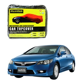Honda Civic Hybrid Maximus Non Woven Scratchproof Waterproof Top Cover - Model 2006-2012-SehgalMotors.Pk