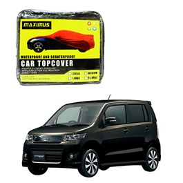 Suzuki Wagon R Maximus Non Woven Scratchproof Waterproof Car Top Cover - Japanese Model 2012-2015-SehgalMotors.Pk