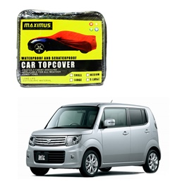 Suzuki MR Wagon Maximus Non Woven Scratchproof Waterproof Car Top Cover - Model 2012-2021-SehgalMotors.Pk