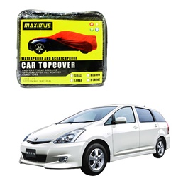 Toyota Wish Maximus Non Woven Scratchproof Waterproof Car Top Cover - Model 2003-2009-SehgalMotors.Pk