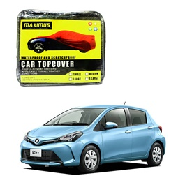 Toyota Vitz Maximus Non Woven Car Cover - Model 2014-2017-SehgalMotors.Pk