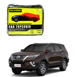 Toyota Fortuner Maximus Non Woven Car Top Cover - Model 2016-2019-SehgalMotors.Pk