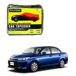Toyota Corolla Axio Maximus Non Woven Scratchproof Waterproof Top Cover - Model 2012-2017-SehgalMotors.Pk