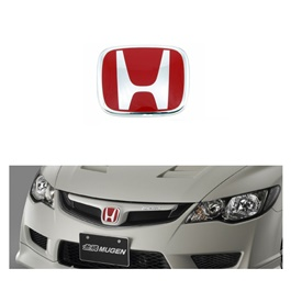 Mugen Honda City Front Logo Red - Each-SehgalMotors.Pk
