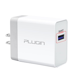 Plugin Surge SC USB Mobile Charger with Smart Charge Port-SehgalMotors.Pk
