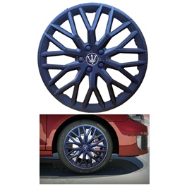 Wheel Cover ABS Matt Black 15 inches - WF0-1BK-15-SehgalMotors.Pk