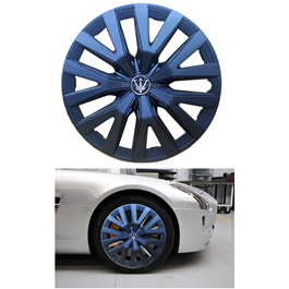 Wheel Cover ABS Matt Black 14 inches - WD0-1BK-14-SehgalMotors.Pk