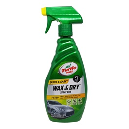 Turtle Wax Wax and Dry Spray Wax - 26Oz-SehgalMotors.Pk