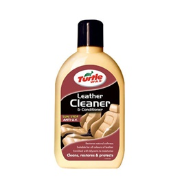 Turtle Wax Leather Cleaner and Conditioner  | Leather Care Product | Leather Polish | Leather Cleaning | Leather Wax | Car Seat Cover Leather Wax | Leather Cleaner | Leather Cleaner Polish-SehgalMotors.Pk