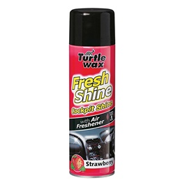 Turtle 51789 Wax Fresh Shine Cockpit Shine - Strawberry 500ml-SehgalMotors.Pk