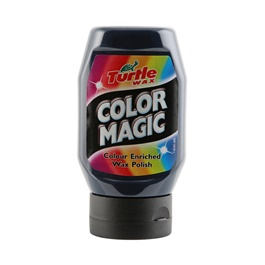 Turtle Wax Color Magic Color Enriched Magic Wax - Blue 300 ml-SehgalMotors.Pk