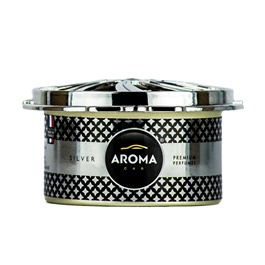 Aroma Car Prestige Organic Silver  | Car Perfume | Fragrance | Air Freshener | Best Car Perfume | Natural Scent | Soft Smell Perfume-SehgalMotors.Pk