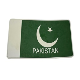 Pakistan Flag Dashboard Non Slip Mat