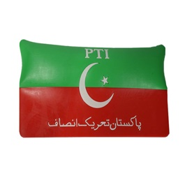 PTI Flag Non Slip / Anti Skid Mat For Dashboard | Anti Skid Material | Silicon Type Dashboard Mat | Car Anti Slip Mat-SehgalMotors.Pk
