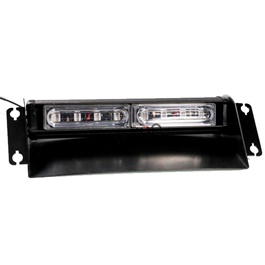 Extreme Heavy Duty Dual Dashboard Police Light With 2 LED-SehgalMotors.Pk