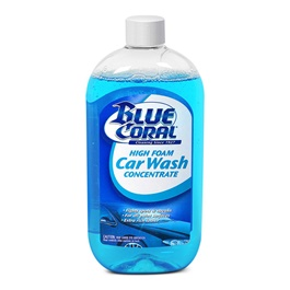 Blue Coral Car Wash 591 ml | Car Shampoo | Car Cleaning Agent | Car Care Product | Glossy Touch Shampoo | Mirror Like Shine-SehgalMotors.Pk
