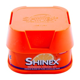 ShineX Paste Wax 200gm Orange-SehgalMotors.Pk
