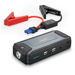 Anker 10000 mAh Car Battery Jump Starter - Gray-SehgalMotors.Pk