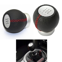 TRD 5 Speed Leather Gear Shift Knob For Auto -SehgalMotors.Pk