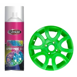 Veslee Rubber Paint – Fluorescent Green-SehgalMotors.Pk