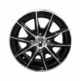 Premium Alloy Rim 100 PCD 4 Hole – 15 inches-SehgalMotors.Pk
