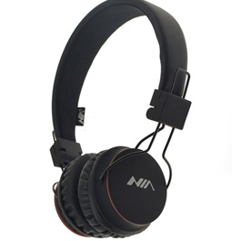 NIA X3 Bluetooth Wireless Headphone - Black