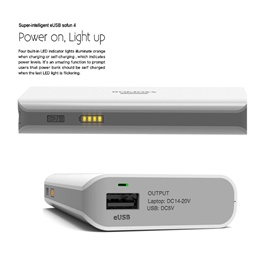 Romoss Laptop Power Bank 10400 MAH EUSB - Sofun 4-SehgalMotors.Pk