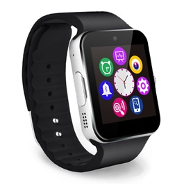 Premium Android GSM Black Smart Watch – GT08 |  Smart Watch Phone Call Bluetooth Smart Watch | Wrist Watch | Advance Technology Watch | Android Watch-SehgalMotors.Pk