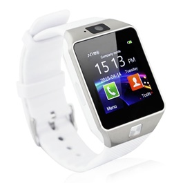 Premium Android White Smart Watch – DZ09 | Smart Watch Phone Call Bluetooth Smart Watch | Wrist Watch | Advance Technology Watch | Android Watch-SehgalMotors.Pk