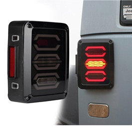 Wrangler Jeep Tail Lamps Full Function LED Back Lamps