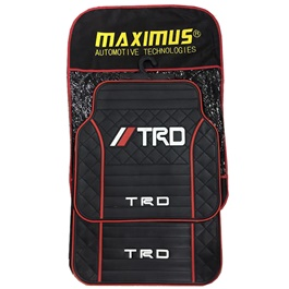 TRD Floor Mat Universal - Multi | Rubber Floor Mats | Car Mats | Vehicle Mats | Foot Mat For Car | Latex Mats-SehgalMotors.Pk