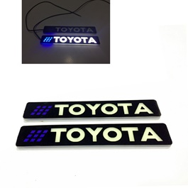 Flexible LED DRL with Toyota Logo – Pair-SehgalMotors.Pk
