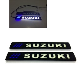 Flexible LED DRL with Suzuki Logo - Pair | LED SMD DRL | Daytime Running Lights | Car Styling Led Day Light | DRL Lamp-SehgalMotors.Pk