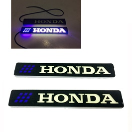 Flexible LED DRL with Honda Logo - Pair-SehgalMotors.Pk